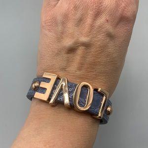 BCBG Generation LOVE bracelet.